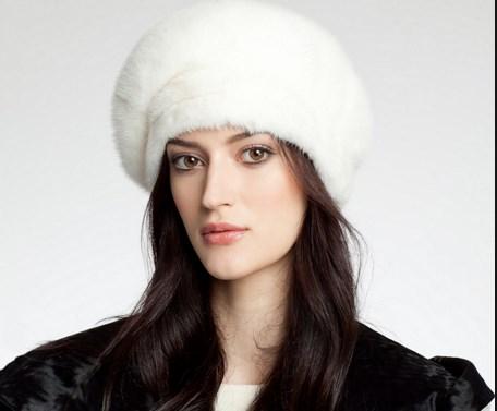 Как чистят норковую шапку