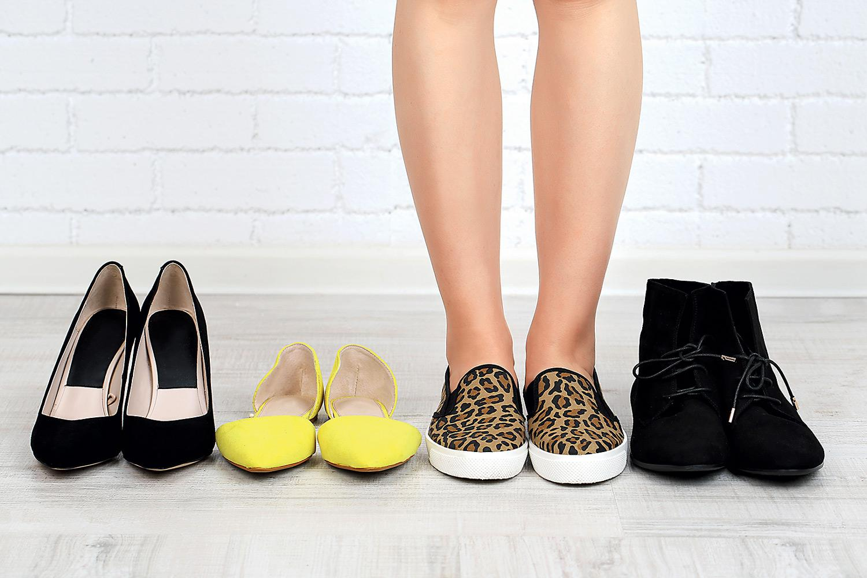 как растянуть обувь