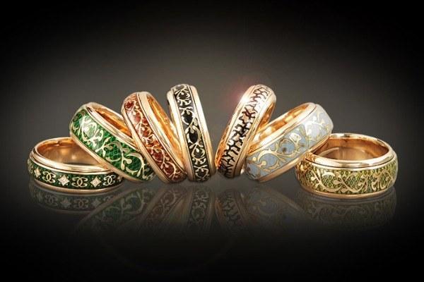 как очистить золотые кольца
