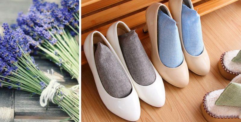 избавление от запаха в обуви народными средствами