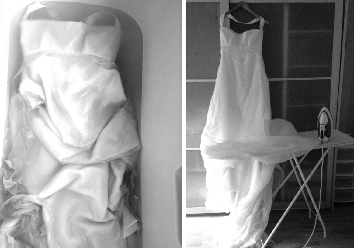 Как гладить свадебное платье в домашних условиях утюгом