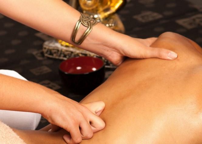 Точечный массаж от храпа