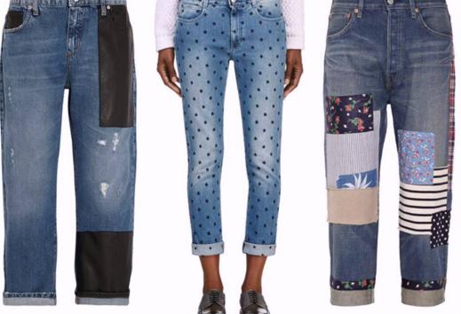 Заплатка на джинсы