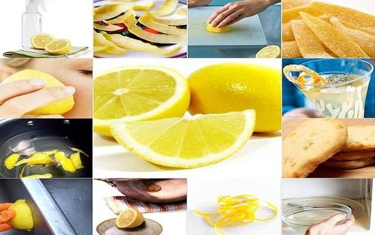 Сфера применения лимона